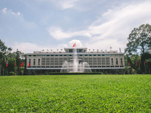 Day Dinh Doc Lap Dinh Độc Lập History Architecture Hochiminh City Nature Nice Outdoors Vietnam