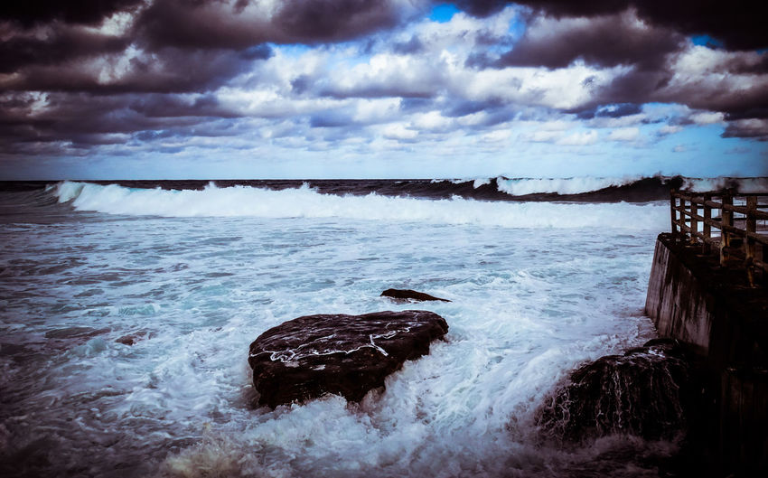 Beauty In Nature Cloud - Sky Day Nature No People Outdoors Scenics Sea Sky Tranquility Water