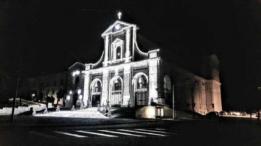 Chiesa Nostra Signora di Bonaria Cagliari Sardegna Natale 2017 Place Of Worship Outdoors Sculpture No People City Sky
