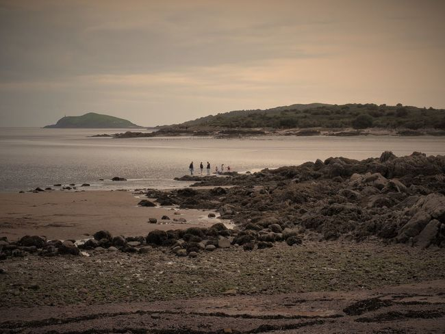 'Family time' Water Beach Tranquil Scene Vacations Scenics Tranquility Tourism Sea Mountain Travel Walking Travel Destinations Tourist Beauty In Nature Sky Nature Coastline Distant Non-urban Scene Summer Family Rockcliffe Beach Scotland Olympus OM-D EM-1 Olympusuk
