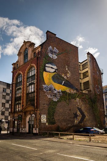 Architecture Building Building Exterior City Cloud - Sky Graffiti Graffiti Art Manchester EyeEm Buildings Eyeem Graffiti