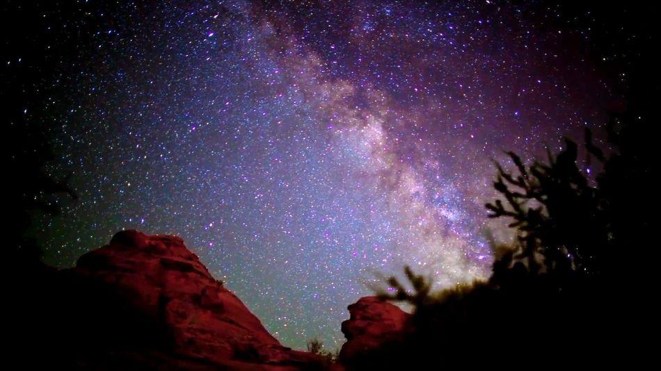 Late night Santa Fe sky. Night Star - Space Astronomy Milky Way Galaxy Sky Constellation The Milky Way Galaxy