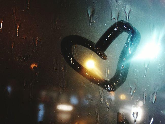 Rain Heart Window