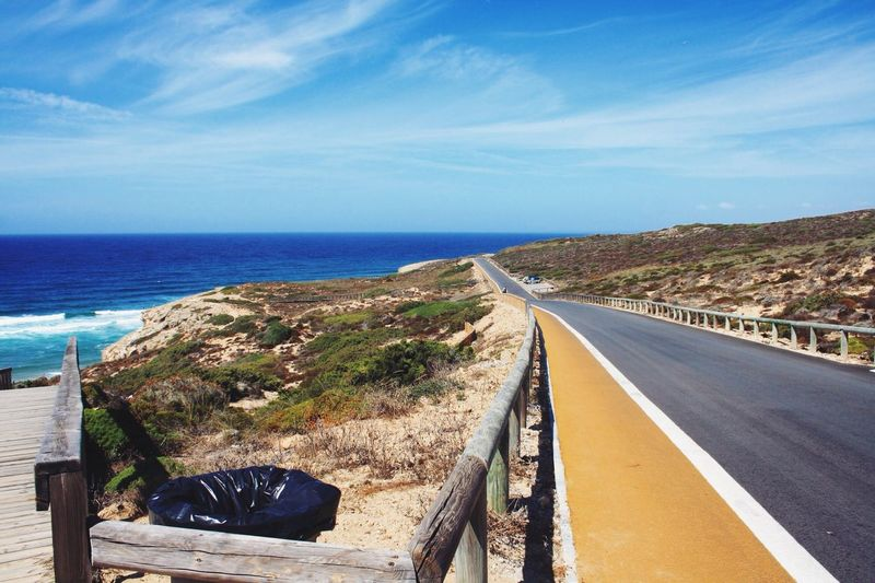 Portugal Portugal Coastline Coast WestCoast Monte Clerigo Summer Sun Photography