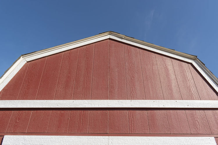 Red Barn Blue