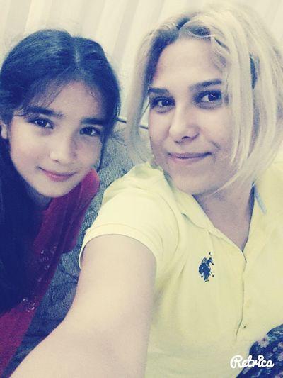 Hala&yeğen selfiemiz :*