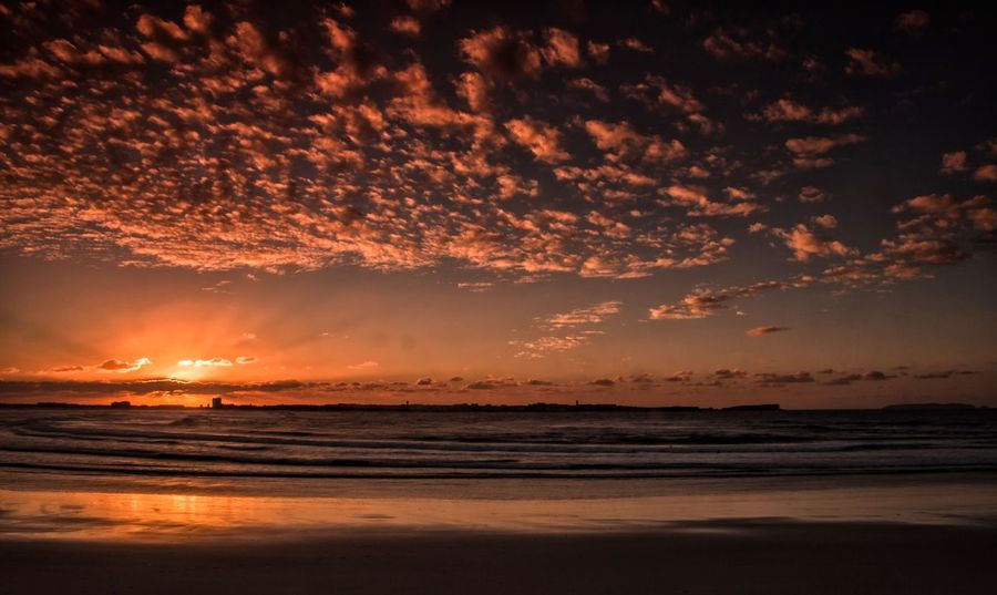 Baleal Portugal Peniche Sunset Sea Scenics Beauty In Nature Nature Sky Tranquility Tranquil Scene Beach Water Outdoors No People Cloud - Sky Horizon Over Water