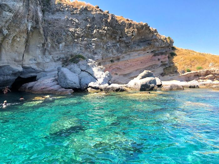 Turquoise waters 💙💙 Travel Destinations Beautiful Nature Beauty In Nature Turkey Summertime Eye4photography  EyeEm Gallery EyeEm Best Shots Summer Water Rock Waterfront Nature Rock - Object Beauty In Nature Tranquility Tranquil Scene Scenics - Nature Rock Formation Outdoors Idyllic Blue The Mobile Photographer - 2019 EyeEm Awards The Great Outdoors - 2019 EyeEm Awards My Best Photo