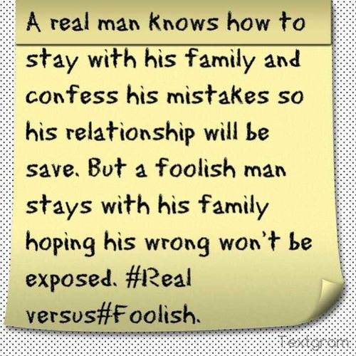 Real Versus Foolish