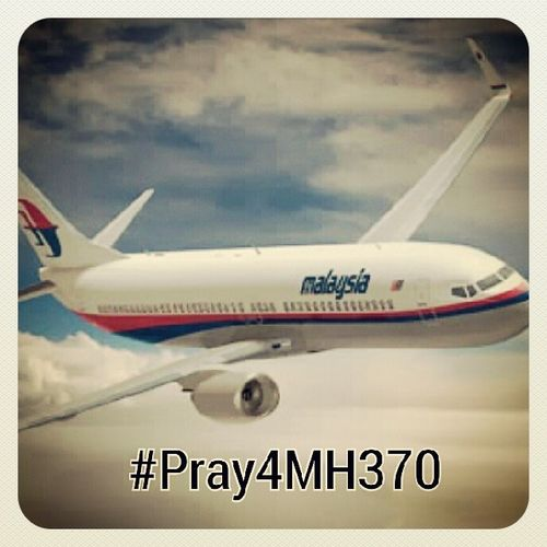 Pray4mh370 .