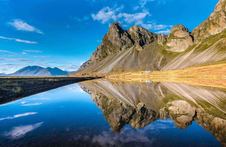 Natural mirror Reflection Landscape Mountain Scenics Lake Mountain Range Beauty In Nature Nature Outdoors Water Sky No People Day Iceland Documentary Photography Landscape_photography