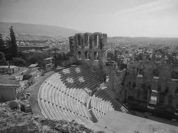 Atenas, Grecia Old Ruin Travel Destinations Travel Built Structure Architecture History Ancient City Outdoors Sky Ancient Civilization Archaeology Atenas Building Exterior No People Ancient History Travelphotography Travel Photography Traveling