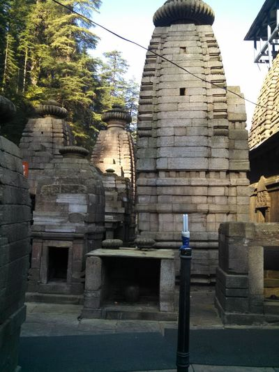 Hills Jageshwar Temples Gross Munsyari No People Trees And Sky Water