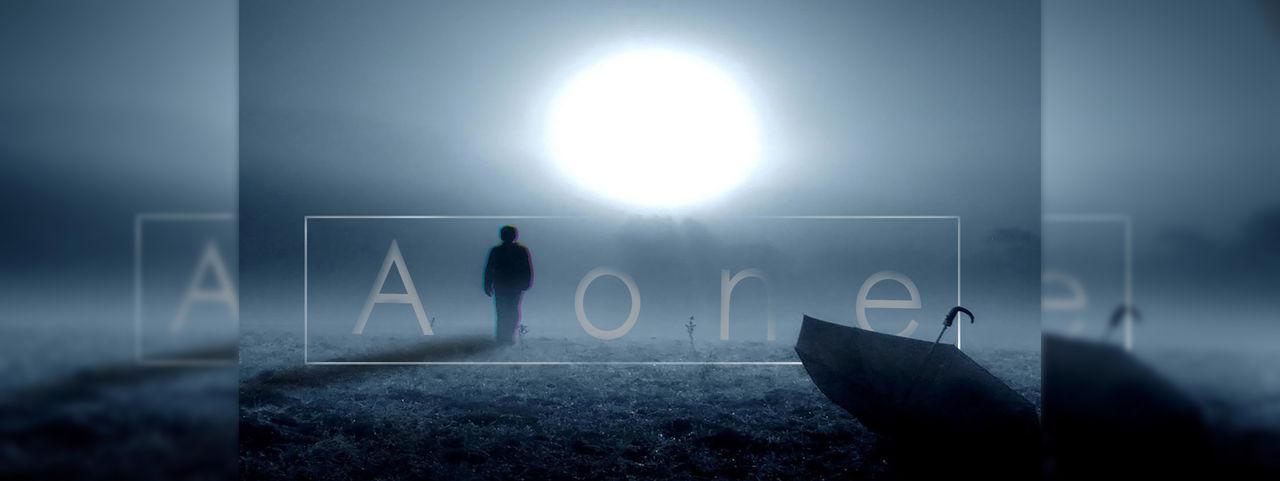 Alone People Adult Night Adobe Photoshop Photoshop