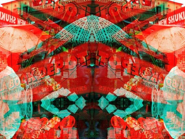 Glitches Art Glitches Streetphotography Neon Life Kitsch Red AI Now!