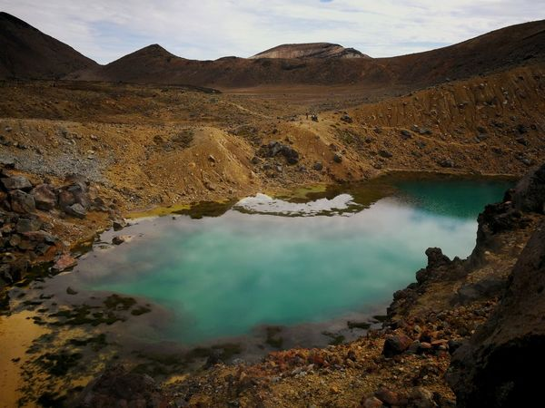 Volcano Landscape Steam Water Lake Outdoors Sulphur Beauty In Nature Day Nature Volcanic Landscape