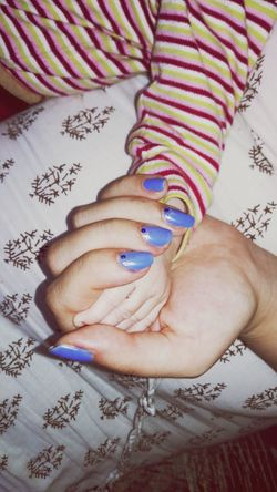 Manicure! Hands Beautiful Nature her word in my hand:)*