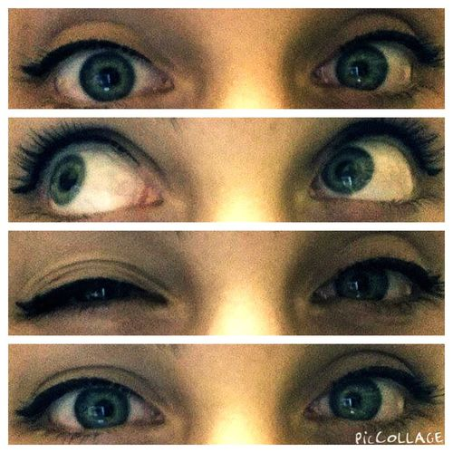 That's Me Hello World Blue Eyes Eyeliner♥ Check This Out