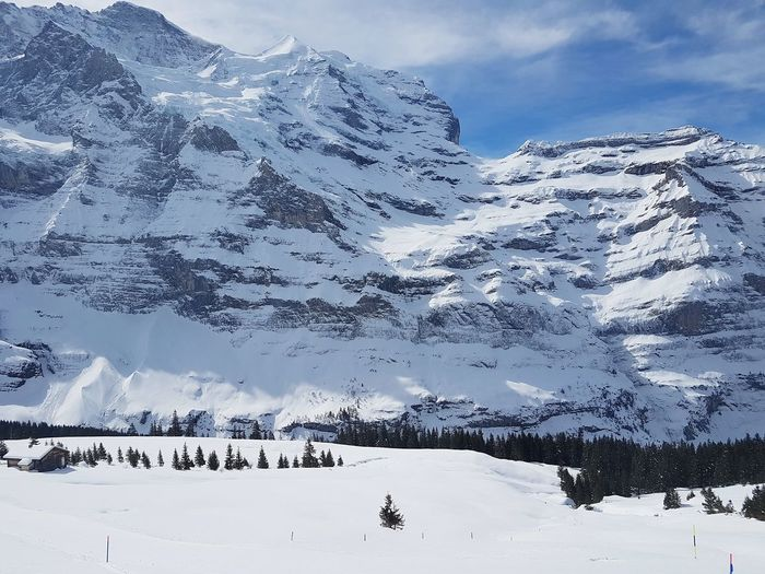 Jungfrau, Alps,