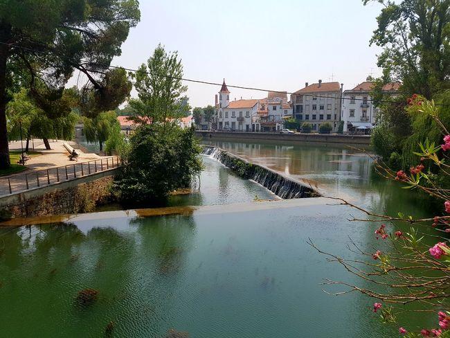 Tomar Portugal River Nabão Village View Riverside River View
