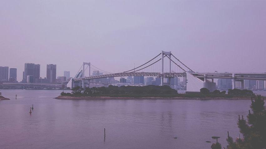 Rainbow Bridge Tokyo Japan View Sightseeing