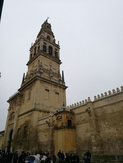Cordoba Spain Miarma San Miguel Arcángel. EyeEmNewHere Politics And Government Clock Clock Face City Politics Modern Clock Tower History Business Finance And Industry Tower Cathedral Visiting Gothic Style Civilization