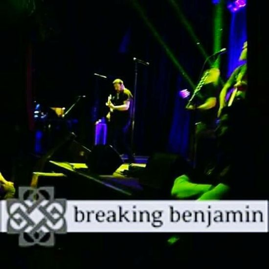 "Breaking Benjamin "" Breaking Benjamin Unplugged Concert EyeEmNewHere Night Indoors  No People"