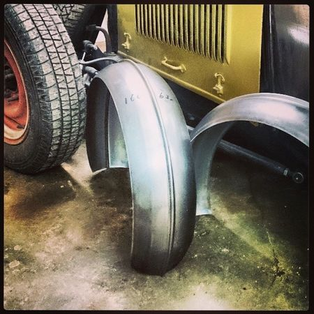 Fender kit to my Ford Roadster 32 Pickup. Ford Roadster Pickup 1932 fenders Sweden sonyxperiaz1