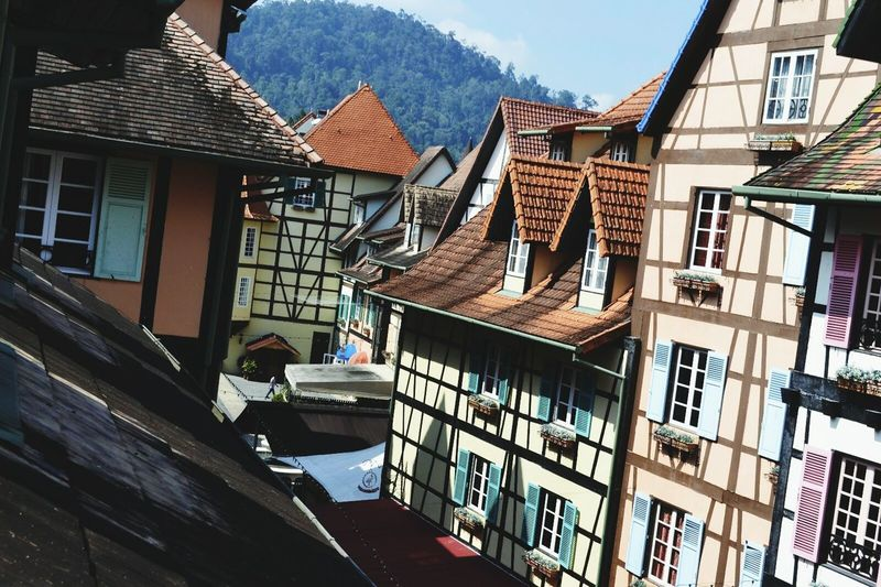 French village,