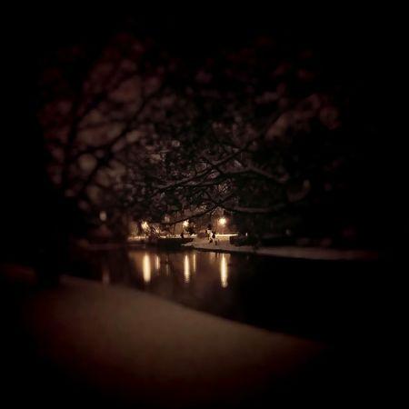 Snow Night Photography Landscape Enjoying Life