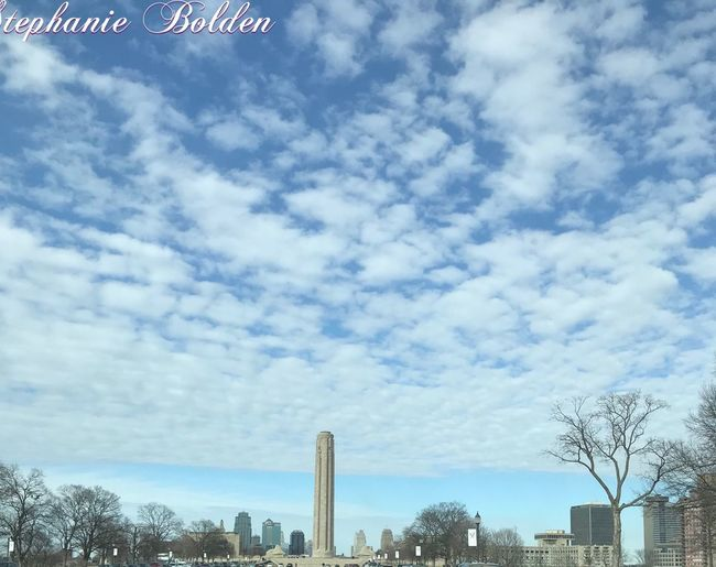 Liberty Memorial Kansas City 📸 Sky Cloud - Sky Built Structure Architecture Day Outdoors Tree City No People Building Exterior Nature