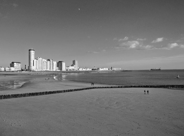 Boulevard Black And White Photography Vlissingen Blackandwhite Black&white Dutch Landscape Nikonphotography Black And White Holland Seaside Sea Zeeland  Beach Coastline