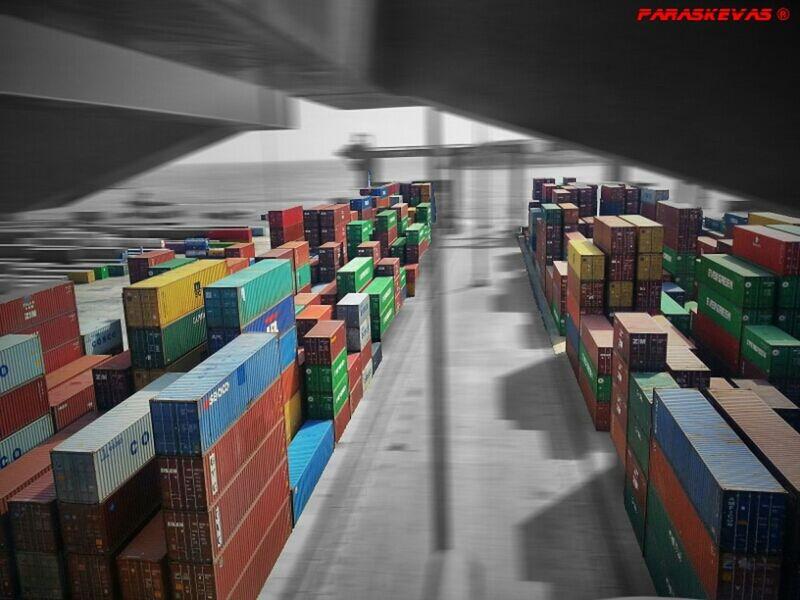 Container Piraeus Container Crane Container Ship