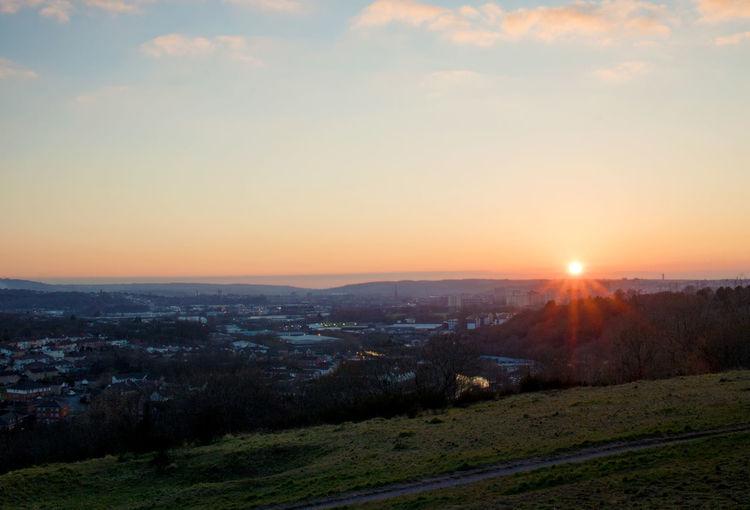 EyeEm Best Shots EyeEm Best Shots - Sunsets + Sunrise Eye4photography  Troopers Hill Bristol Sunset #sun #clouds #skylovers #sky #nature #beautifulinnature #naturalbeauty #photography #landscape