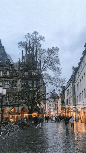 Münster Building Exterior Architecture Built Structure City Water Building Sky Transportation Nature Rain Plant Street Travel Destinations River Mode Of Transportation Residential District Outdoors Tree