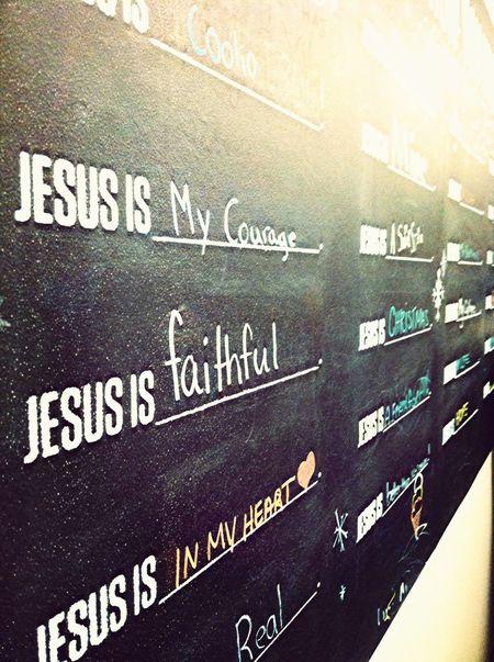 Jesus Is_____