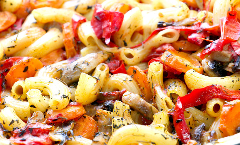 macaroni Salad Vitamins Carrots Close-up Day Food Food And Drink Freshness Healthy Eating Italian Food Italy Macaroni Macaroni Salad  Mushroom Mushrrom No People Paprika Ready-to-eat Spice Vegetable