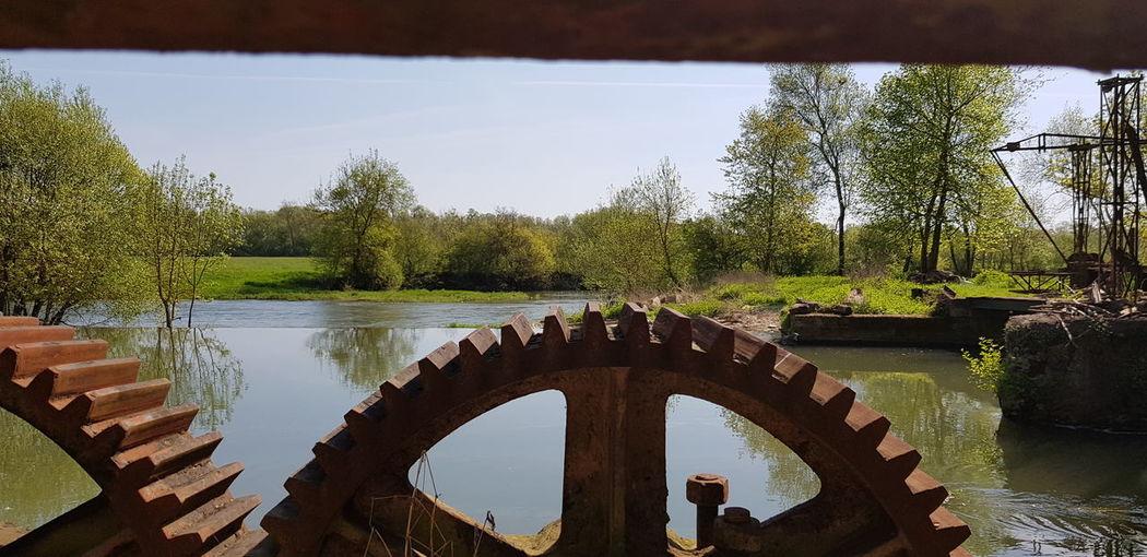 Moulin Nature Rouage Loire Sarthe 72