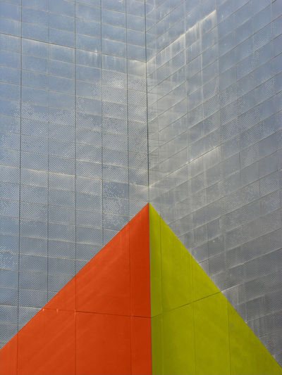 part my series of abstract, sectional views of architecture Abstract Architecture Cubist Graphic Design Green Orange Painted Architecture Sectional View