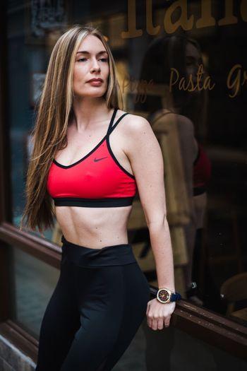 Outdoor shoot #beautiful girl #fitness