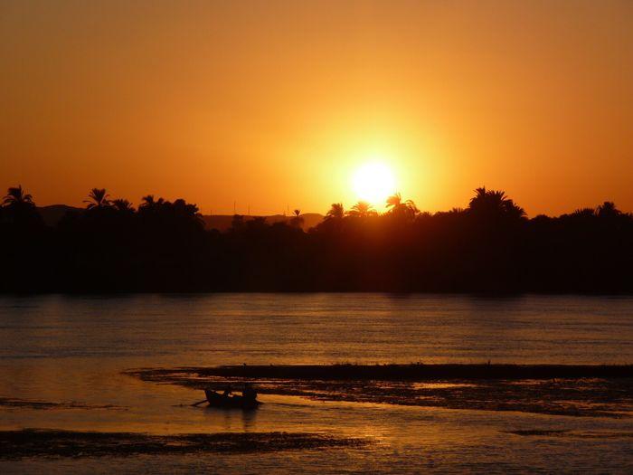 Coucher De Soleil Orange Orange Color Exterieur Paysage Scène Tranquille Tranquility Beauté De La Nature Idyllique Soleil Or Gold