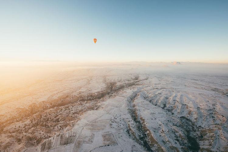 Scenic View Of Winter Landscape