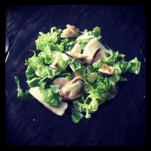 пп правильноепитание салат морепродукты пекинскаякапуста оказывается вкусно тренер плохого не посоветует))