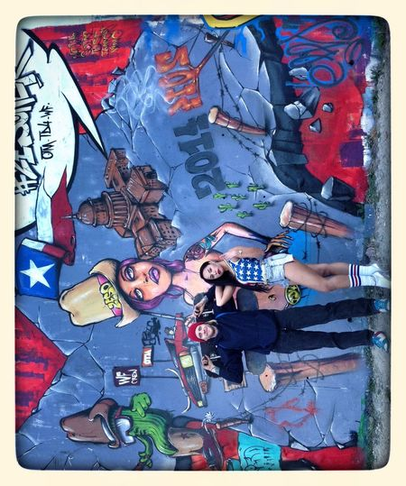 Fresh street art! Streetart