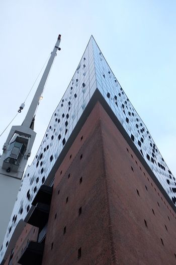 The elbphilharmonie Architecture Architecture_collection Low Angle View Built Structure Hamburg