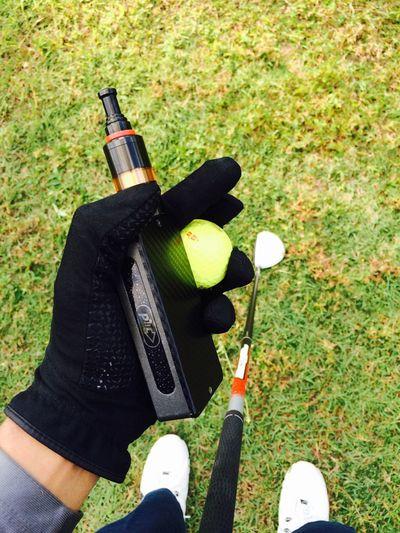 Golfing Sport Vaping Vapor VapeLife The Grass Is Green