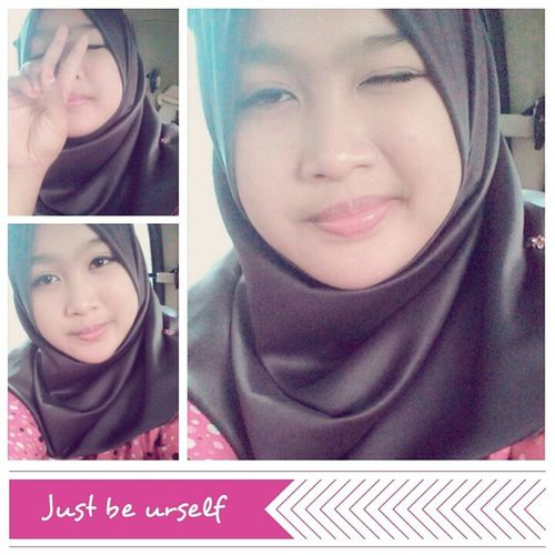 Just be urself ? Smilealwaysguys😊 Sayangawak ? ? Hehe😳 Selamatmalamkesayangan ?