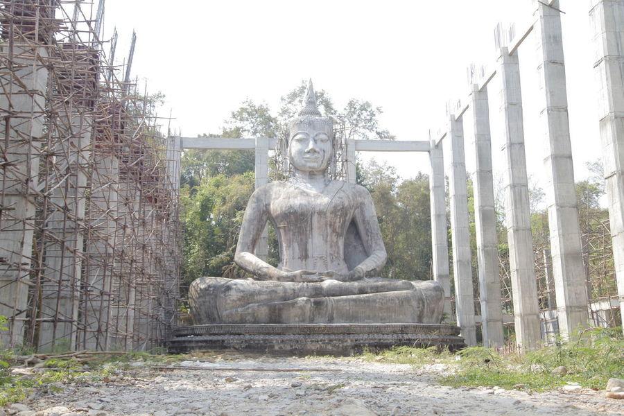 Build A Temple Statue Big Buddha Temple Big Buddha, Thailand Figurehead Portrait Sculpture Statuary Statues Statues/sculptures