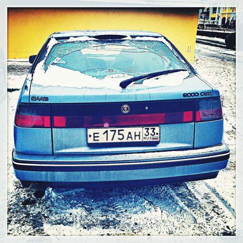 Мой 9000к Saab Saab9000 Vladimir Russia