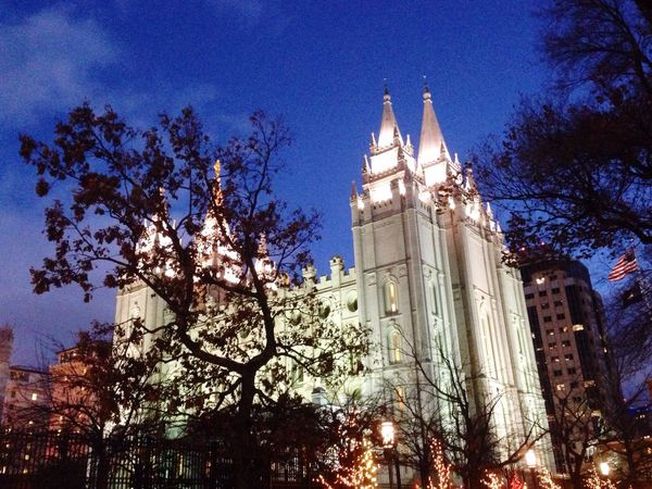 """""""I'm going there someday"""" Slc Christmas Lights Temple Square"""